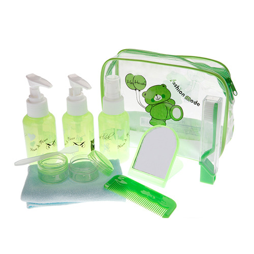 Portable Green Case(9pcs)
