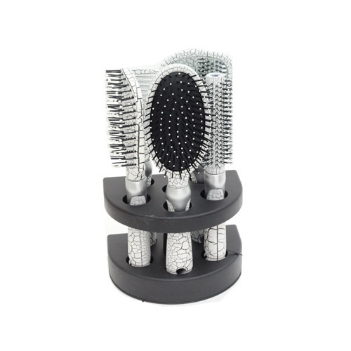 Silver cushion Brush Set