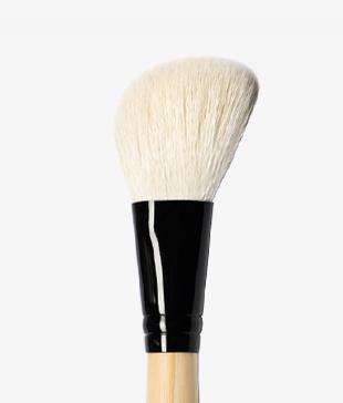 White Angled Contour Brush