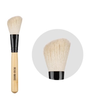 White Angled Contour Brush 17pi